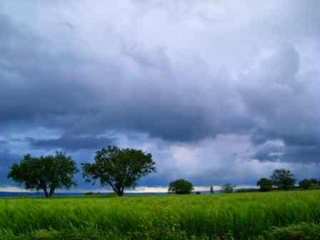 yağmur manzara