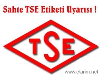 sahte TSE etiketi