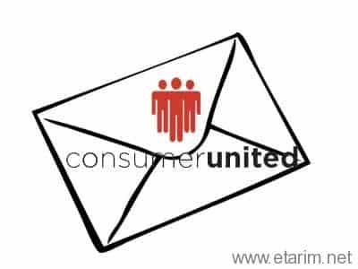 Consumer United Letter