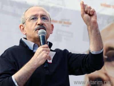 CHP Genel Başkanı Kemal KILIÇDAROĞLU