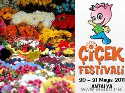 Çiçek Festivali Antalya