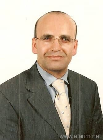 Maaliye Bakanı Mehmet Şimşek