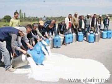 Süt Protestosu