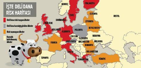 Deli Dana Risk Haritası