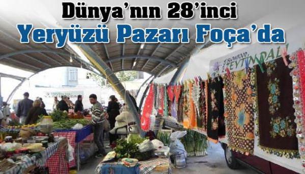 Dünyanın 28'inci Yeryüzü Pazarı Türkiye'de