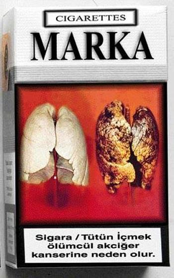 Sigaraya 'tek tip' desteği