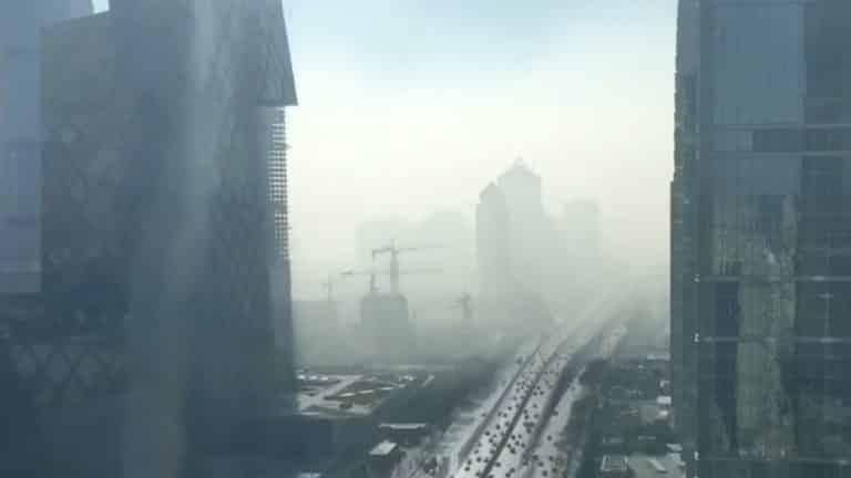 Tertemiz Havanın 12 Saniyede Nasıl Kirlendiğini Gösteren İbretlik Video