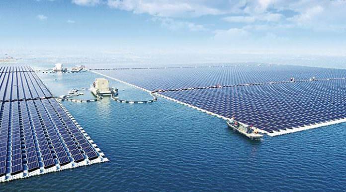 Dünyanın En Büyük 'Yüzen' Güneş Enerjisi Tarlası, Çin'de Kuruldu!