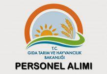 Tarım Bakanlığı 2058 Sözleşmeli Personel Alımı Yapacak