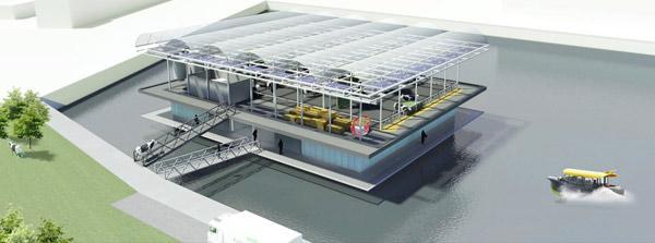 Dünyanın ilk: 'yüzen çiftlikler' Hollanda'da kuruluyor