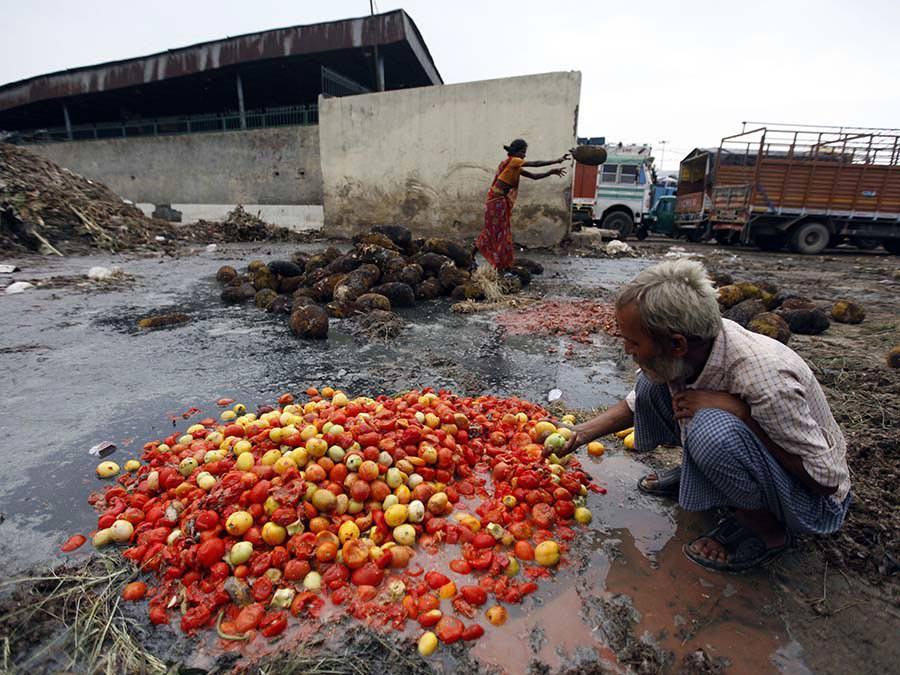 İşte Fakıbaba'yı isyan ettiren gıda israfı tablosu