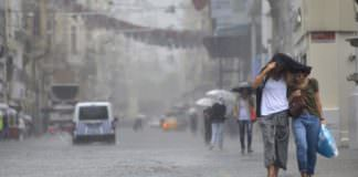 Meteoroloji'den İstanbul için sağanak yağmur uyarısı!