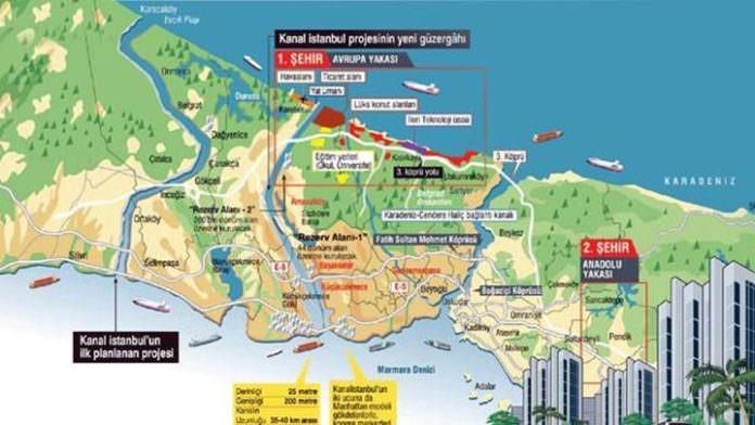 Kanal İstanbul'da güzergah kesinleşiyor