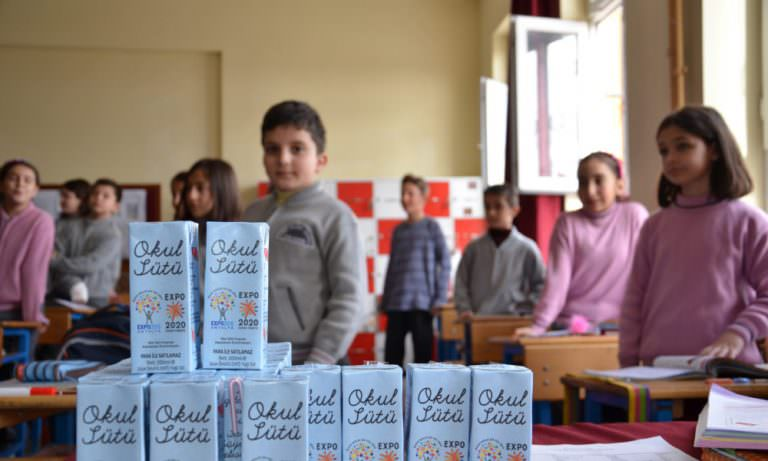 Okul sütünde önemli gelişme
