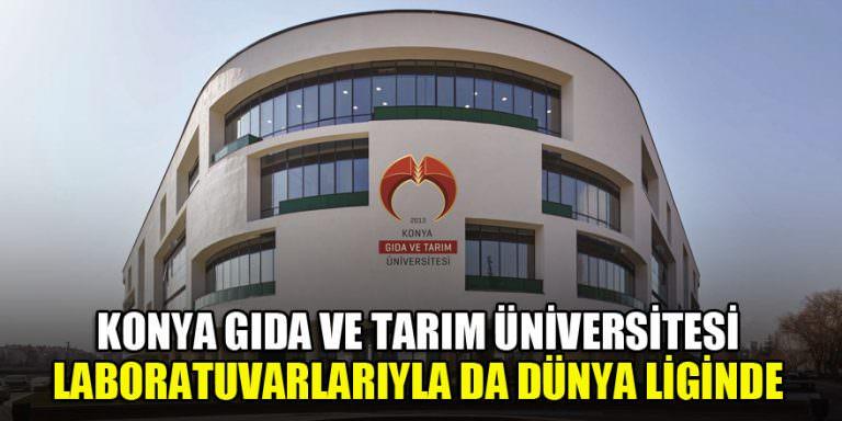 Konya Gıda ve Tarım Üniversitesi Dünya liginde