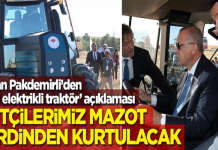 Tarım Bakanı: Elektrikli traktörle mazot maliyeti düşecek!