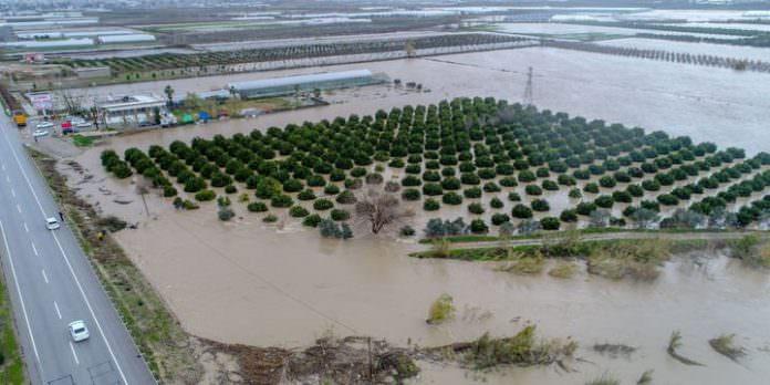 Sağanak ve fırtına birçok ilde tarım arazilerini vurdu