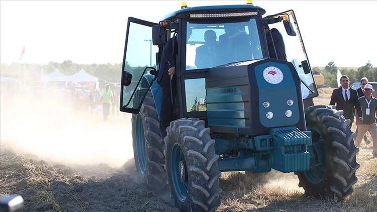 Yerli ve Milli Elektrikli Traktörler Üretilmeye Başlandı