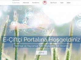Üreticilere e-çiftçi portalı ile işlem yapma çağrısı