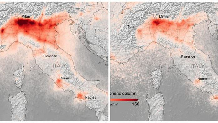 Hava kirliliği, Koronavirüs nedeniyle yüzde 45 azaldı