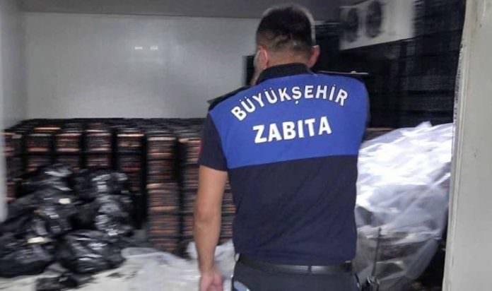 Adana'da 40 ton kaçak et ele geçirildi