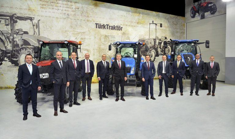 TürkTraktör Yılın İlk Yarısında Üretim ve İhracat Rekoru Kırdı